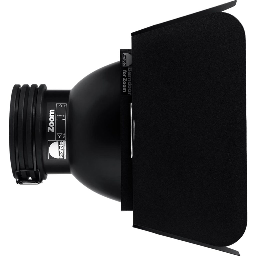 Barndoor for Zoom Reflector