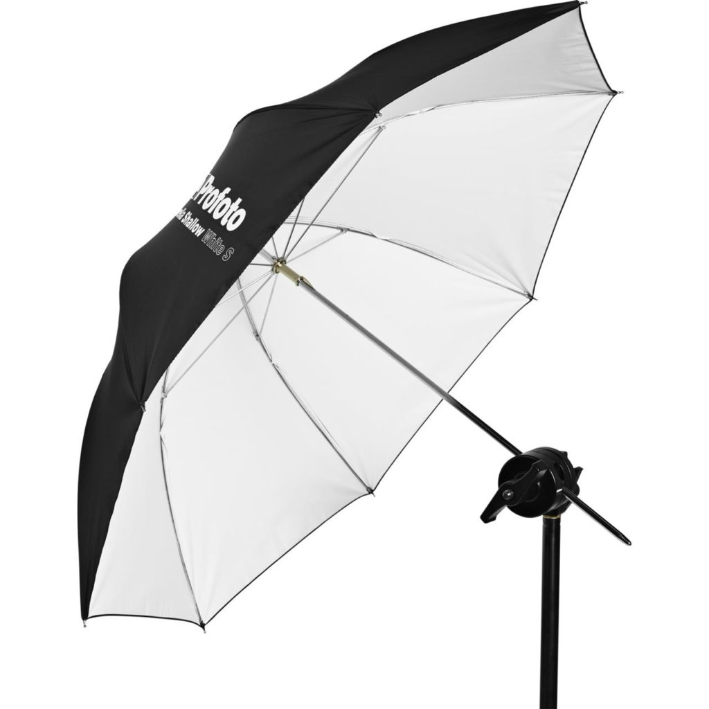 Umbrella Shallow White