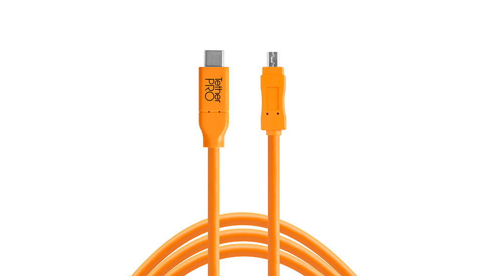 Cable TetherPro USB-C a 2.0 Mini-B 8 pin