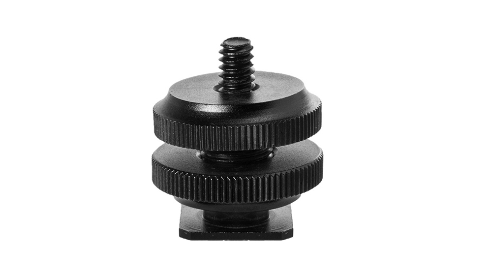 Rock Solid Hot Shoe 1/4″-20 Adapter