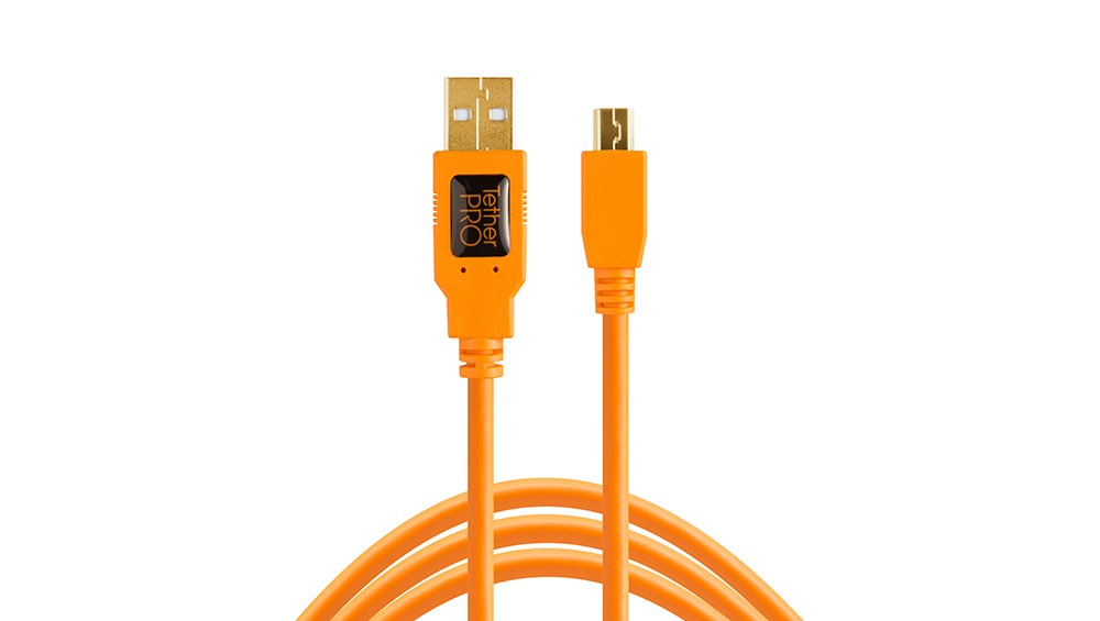 TetherPro USB 2.0 a Mini-B 5-Pin