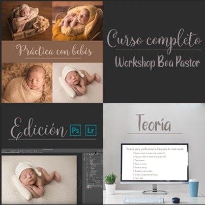 Curso online de recién nacido con Bea Pastor