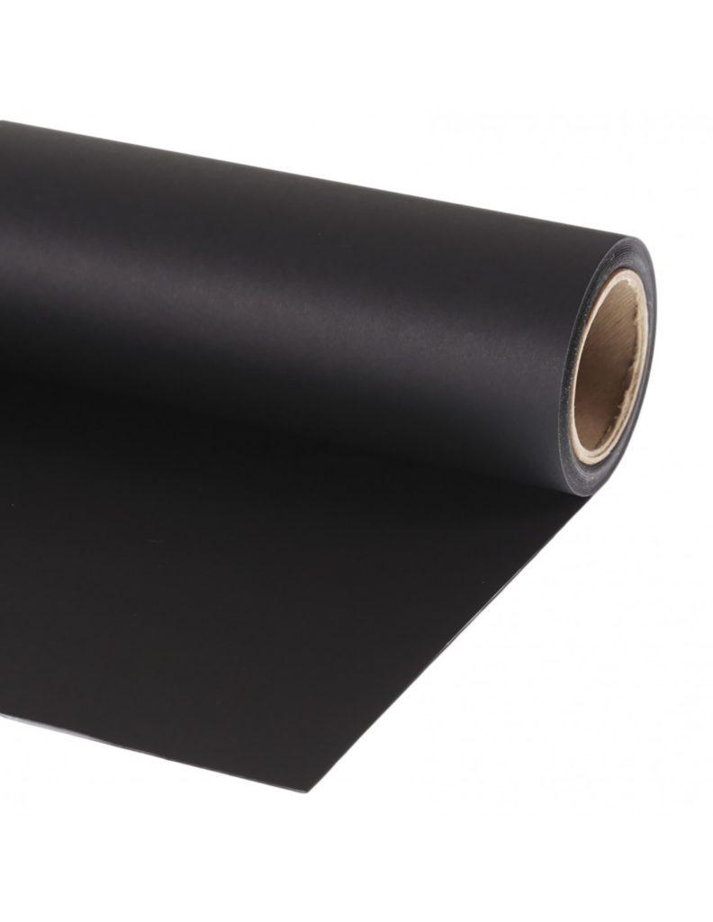 Fondo de papel Black 136x1100cm