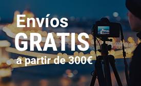 Envíos gratis a partir de 300€