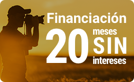 Financiación en 20 meses sin intereses
