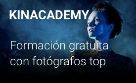 KINACADEMY Formación gratuita con fotógrafos top