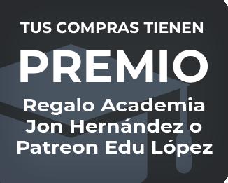 Regalo Academia Jon Hernández o Patreon Edu López
