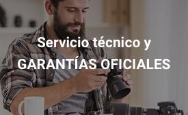 Servicio técnico y garantías oficiales