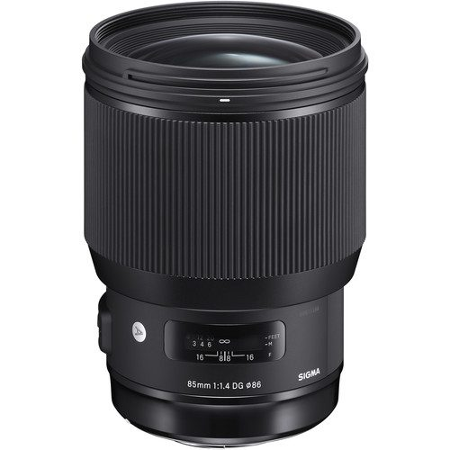 SIGMA 85MM F1.4 DG HSM (ART)