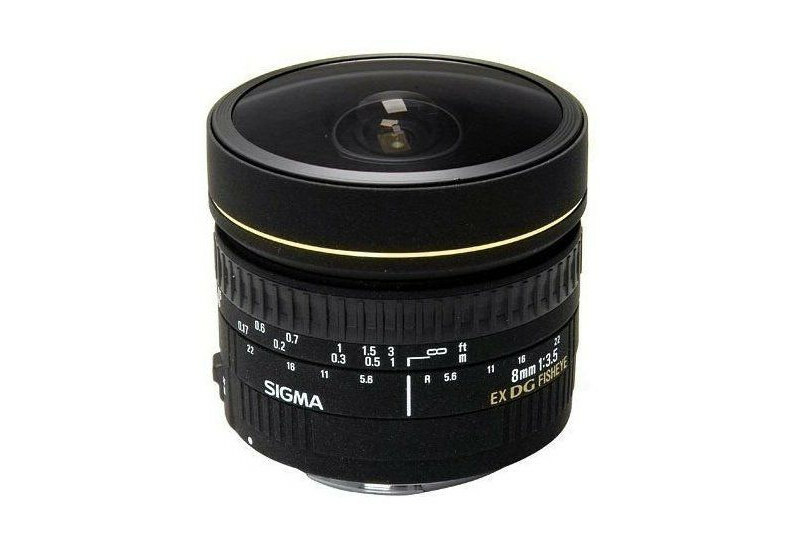 Sigma 8mm F 3.5 EX DG Cir. Fisheye