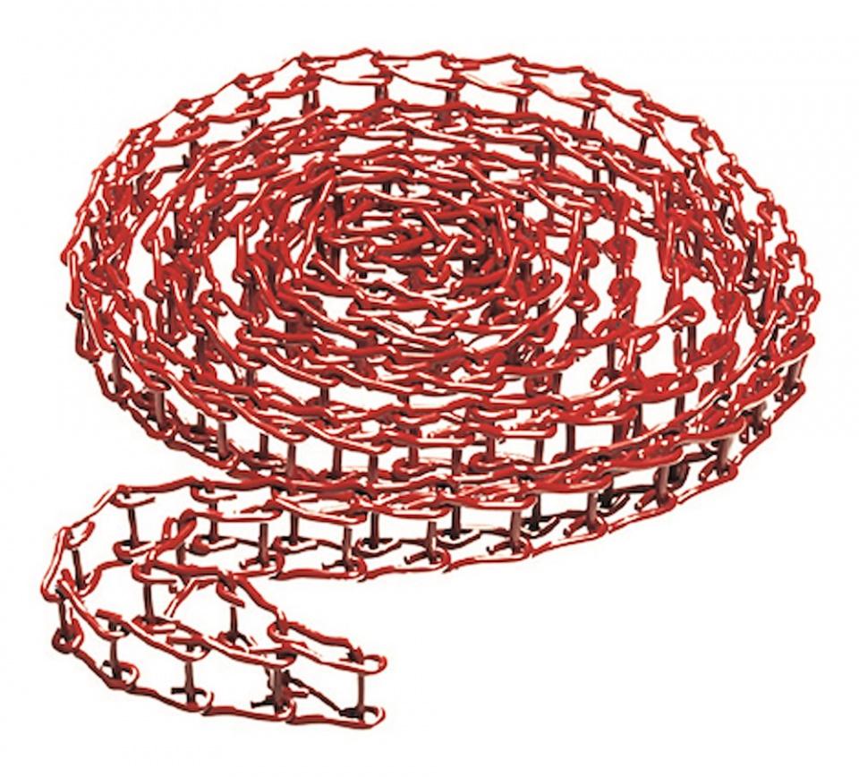 Cadena Metálica Roja para Expan