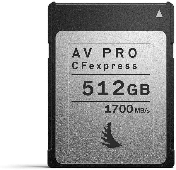 Tarjeta ANGELBIRD AV Pro CFexpress 512 GB
