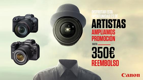 Promoción de Canon España, reembolso de hasta 350€ para estudiantes